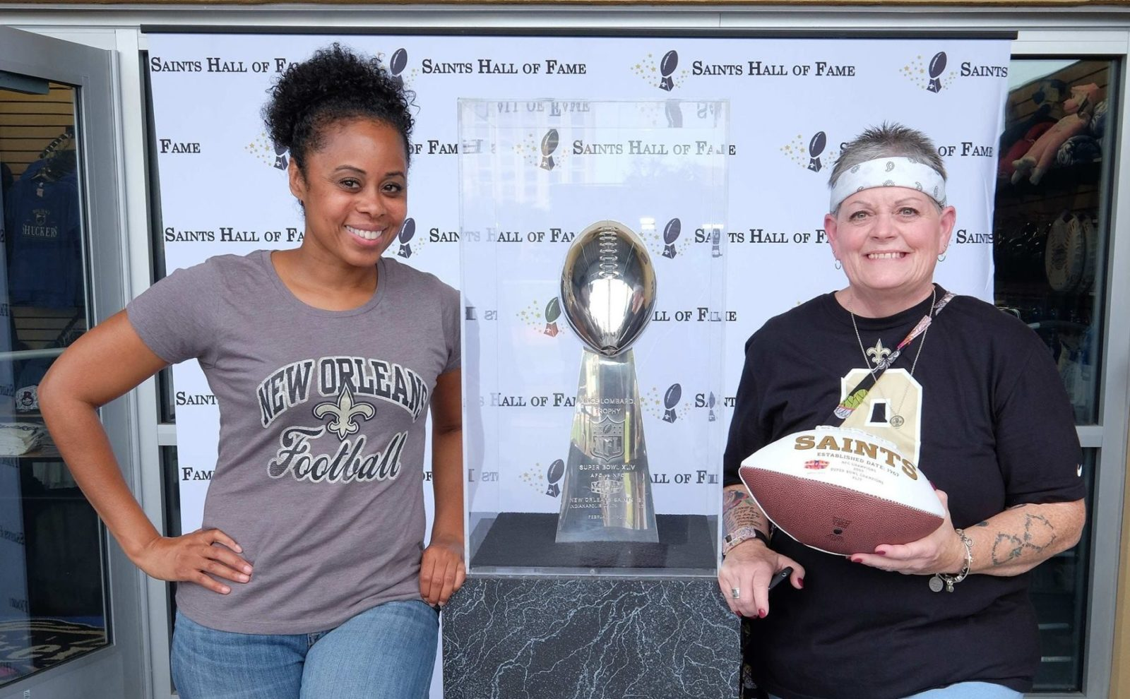Saints Hall of Fame Weekend in Biloxi
